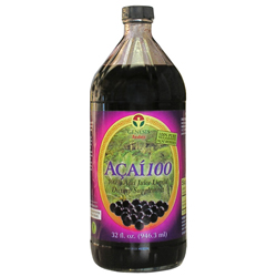100% PURE wild harvested ACAI Berry Juice! Only Acai Pulp with No added fruit juices, sweeteners, sugars, preservatives, water or anything!